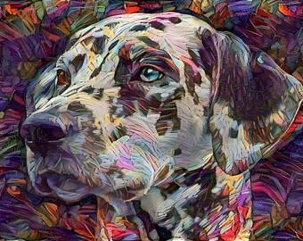 Dalmatian, Dog Print, Dalmatian Gifts, Dalmatian Print, Dog Art, Dog Portrait, Dalmatian Decor, Dog Decor, Dog Wall Art, Dog Lover Gift