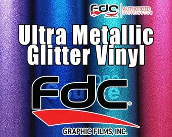 "5PK / 12""x 24"" NEW / FDC® 3700 Premium Ultra Metallic Vinyl Film"