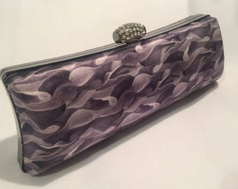 Liberty silk clutch bag