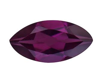 Purple Garnet Marquise Cut Loose Gemstone 1A Quality 8x4mm TGW 0.50 cts.