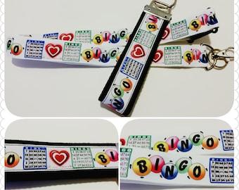 Bingo! Badge holder, lanyard or keychain