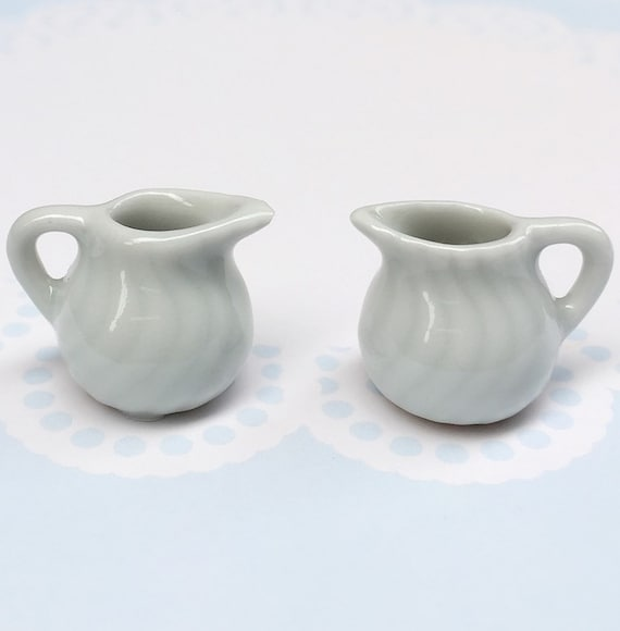 Miniature Pitcher,Miniature Empty Pitchers,Dollhouse Pitcher,Miniature Water Pitcher,Miniature Vase,Pitchers