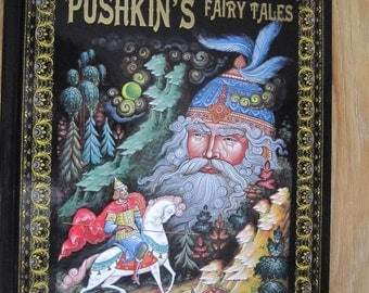 Pushkin's Fairy Tales Palekh Paintings Russian english edition
