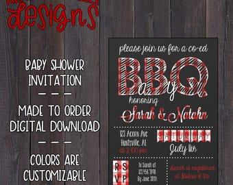 BaBy Q Invitation