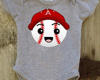 Razorback  Baseball Bodysuit for Baby