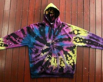 3XL Reverse Tie Dye Hoodie