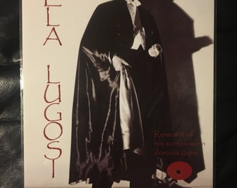 Original 1931 Dracula Bela Lugosi Movie Screen Used Cape Remnant