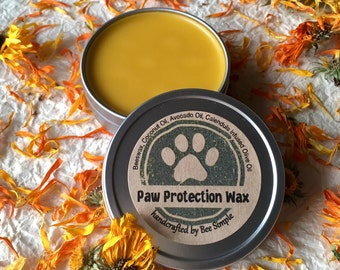 Calendula Paw Wax by Bee Simple - Paw Balm - Natural Dog Care - Dog Paw Balm - Paw Treatment - Cat Paws - Cat Balm - Pet Valentine