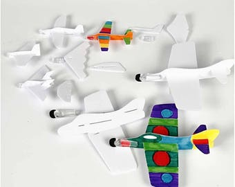 Colour in and make Aeroplanes
