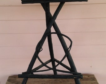 Twig Table with Rectangular Top - Country Plant Stand