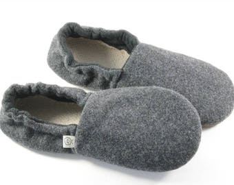 Dad Gifts- Husband Easter Gift- Wool Slippers- Unique Gift for Men- Gift for Wife- Teen Mens Gift- Relaxation Gift