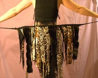Pixie Skirt/Festival Skirt/Festival Clothing/Tattered Skirt/Gypsy Clothing/Boho Clothing/Boho Skirt/Gypsy Skirt/Shambhala/Burning Man