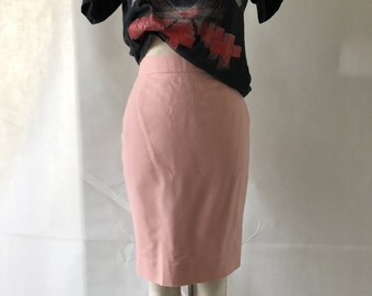 vintage 80s pink power suit