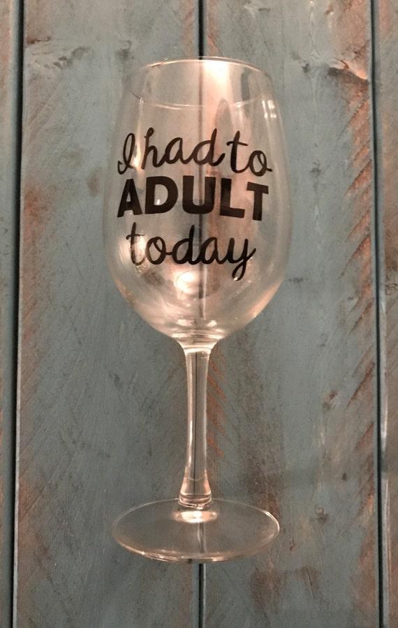Wine glasses thenerdybirds