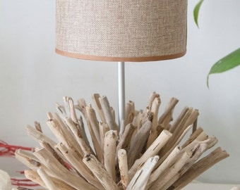 """Driftwood lamp SMALL CORAL h 38 cm/15 """""""