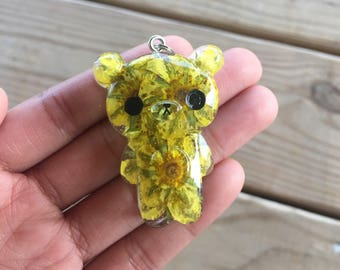 Yellow and Green Bear
