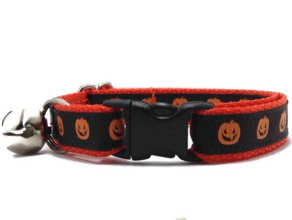 halloween cat collar breakaway cat collar dog collars puppy. Black Bedroom Furniture Sets. Home Design Ideas