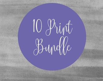 Set of Ten Prints