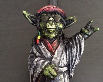 Rasta Yoda Pipe
