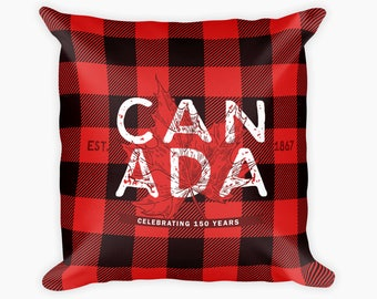Canada 150 // Canada Day // Canada Day Decor // Canadian Pillow // Cottage Decor // Canadian