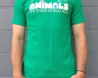 The Humane Society of United States - Vintage T-Shirt