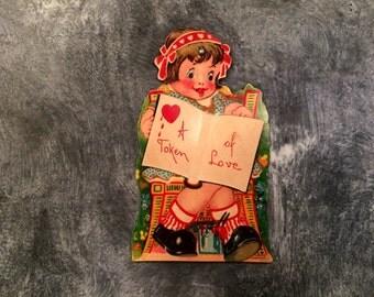 Vintage Articulated Valentine, Vintage Valentine