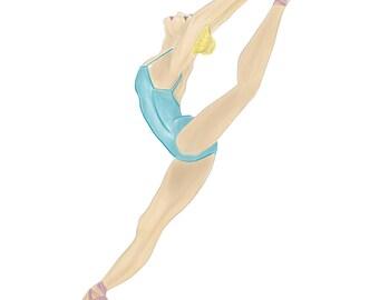 Ballerina Leap Print