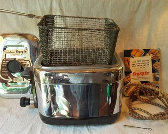 Nesco Fryryte Deep Fryer, 1954