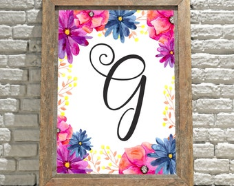 Monogrammed Wall Decor monogram wall art | etsy