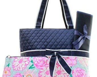 Monogrammed/Personalized Diaper Bag