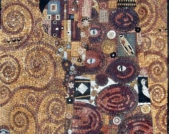 "Mosaic Art - ""Hope"" Gustav Klimt"
