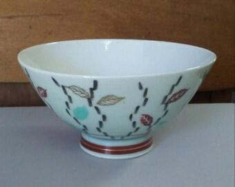 Rice Bowl, Porcelain Bowl, Small Bowl, Asian Home Decor, Gift, Vintage Rice Bowl, Ring Dish, Ceramic Bowl, White Rice Bowl, Small Rice Bowl