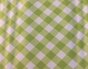 Bonnie and Camille Basics Green Gingham Check from Moda Fabrics