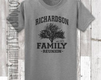 Family Reunion T-Shirts - Tree Customizable