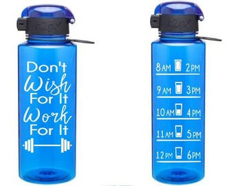 Motivational Water Bottle Decal