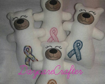 Beary Special Awareness Ribbon Plushie Bears