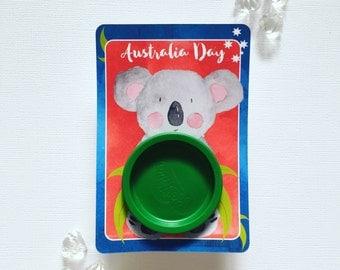 Australia Day playdoh cards