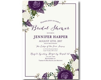 PRINTABLE Bridal Shower Invitation, Bridal Shower Invitation Printable, Printable Invitation, Bridal Shower, Bridal Shower Printable #CL307