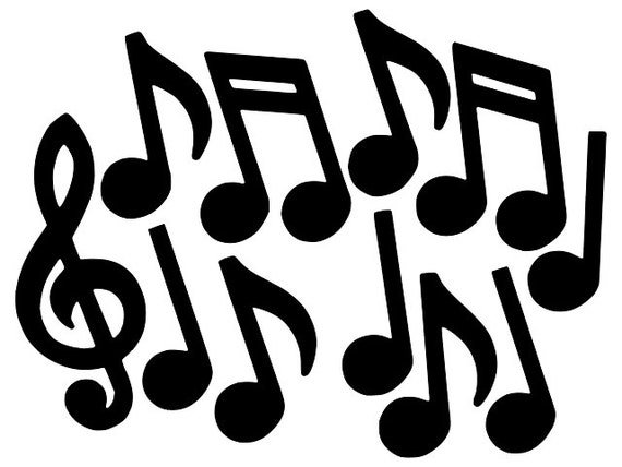 Music Notes vector Sta...