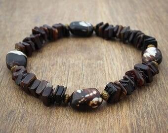 Black Shell Bracelet