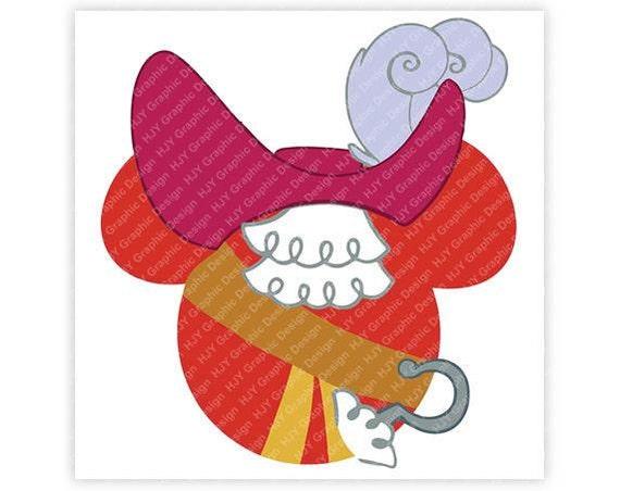 Disney Captain Hook Pirate Icon Minnie Icon Mickey Mouse