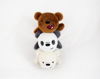 We Bare Bears Kuttari Plush