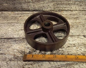 Cast Iron Vintage Wheel