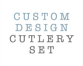 Custom Design Cutlery Set