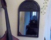 192030s Art Deco Pewter Mirror Rowley Gallery Kensington 27 12 x 15 14 69cms x 39cms