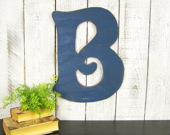 rustic wall letter b large wooden letter b gallery wall decor large wood letter b wooden letter sign decorative wall letter rustic letter