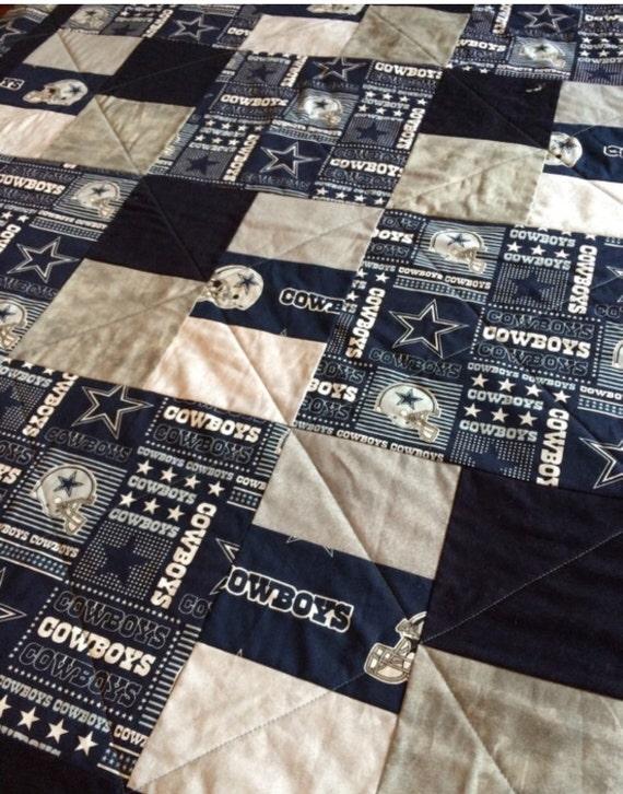 Dallas Cowboys Handmade Quilt