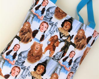 Tote Bag, Wizard of Oz Tote Bag, Book Bag, Shopping Bag