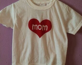 Love mom tshirt