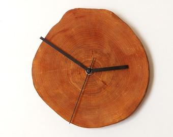Clock, rustic clock, wall clock, eco friendly clock, wooden clock (11)